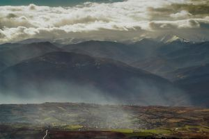 Sun valley and the old volcano by BobRock99