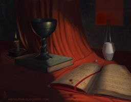 Silent Hill 2 Still Life by FlammablePerson