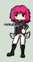 Paramore: Hayley Pink by NickyToons