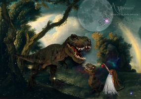 The dinos story by annemaria48