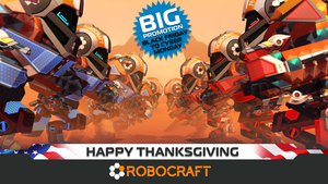 Robocraft Happy Thanksgiving by tetTris11