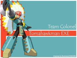 TeamColonel set:TamohawkmanEXE by RockmanCXDEZZR