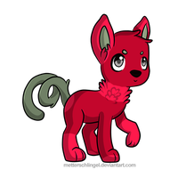 Rose - wolfofender by Feralx1