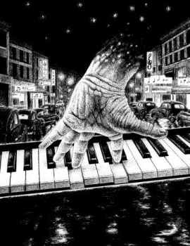 The Piano Hand by spiffopops
