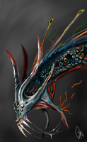 Sea Beast (head colored) concept by ADDaughtry