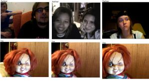 Chatroulette, Chucky reactions by hugechuckyfan