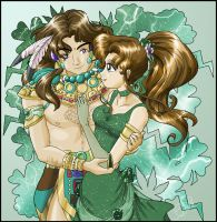 Princess Jupiter and Nephrite by SMeadows