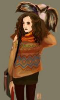 Hermione again by nastjastark