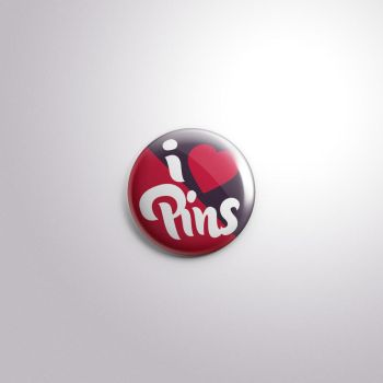 Free Psd Button Badge Pin Mock-Up by Pixeden