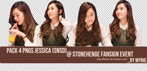 PACK 4 PNGS JESSICA  By Mynie by bttmy