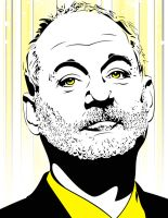 Bill Murray by ShaneMillerdk2