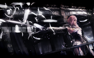 FF XIII-2 Lightning Wallpaper by Rukiii