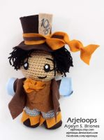 The Mad Hatter! Jefferson inspired from OUAT by Arjeloops