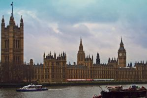Houses Of Parliament by XKiKX