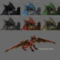 DS MATs for Mestophales Dragon by AdamTLS