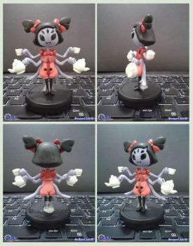 Muffet fan-made figure by Gregarlink10