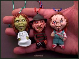 Horror PARTY - Cult Horror CHARMS by buzhandmade