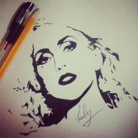 Lady Gaga by AsphodelGray