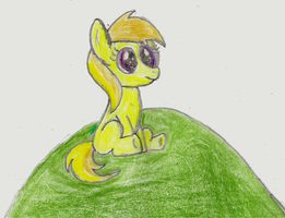 Noi on a hill (artist training ground day 5) by Raptor1701