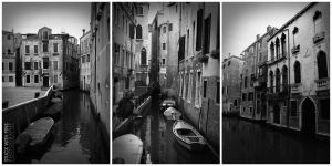 Venice in Black and White by stuckwithpins