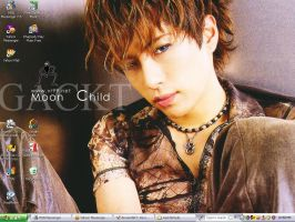 Moon Child Gackt Desktop by Yudoku
