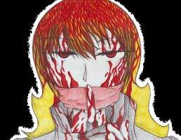 Undercover Serial Killer! Yang by Hollowness14