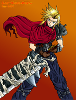 Cloud Strife - Kingdom Hearts by Fonzu