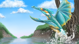 ~Kingfisher by UnicornCat
