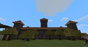 Another Minecraft Building by CuteAndy