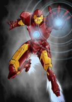 Iron Man by vagrantheart7