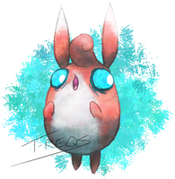 Wigglytuff by T-Reqs