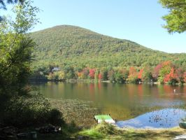 156 Burnt Meadow Mountain and Pond by crazygardener