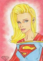 Kara Sketch Card by wheels9696