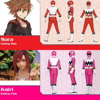 Sora and Kairi as Galaxy Red/Pink for NeoduelGX by AdrenalineRush1996