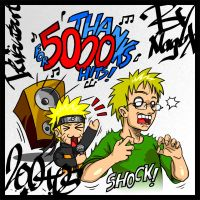 Naruto - Thanks for 5000 Hits by NaguX