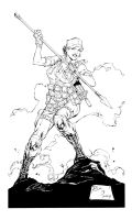 G.I. Joe-Lady Jaye Inks by devgear