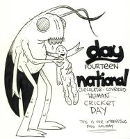 National Chocolate Cricket Day by YourFathersMustache