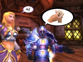 The new Jaina Proudmoore by Brownfinger
