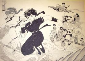 Ranma Group by DonnieCiarko