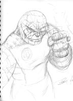 The Thing Sketch by ARMORMAN