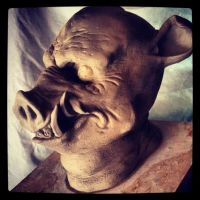 Boar Man Mask by st8exprs