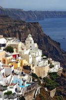 Santorini  Fira by CitizenFresh