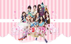 SNSD KISS ME BABY-G WALLPAPER HD by ExoticGeneration21