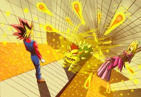 Atem in the Mario game by lythihaily