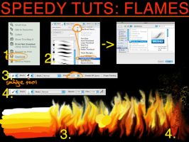 Speedy Tuts:Flames by Magweno