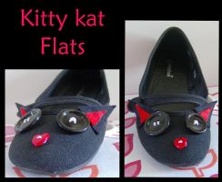 Kitty Kat Flats by flames-of-monki