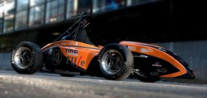 URE 05 Racing Car by marcelplug