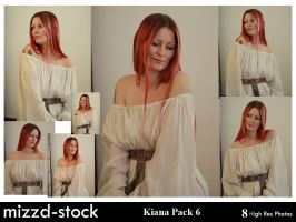 Kiana Pack 6 by mizzd-stock