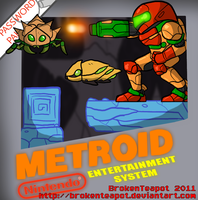 NES Metroid by BrokenTeapot