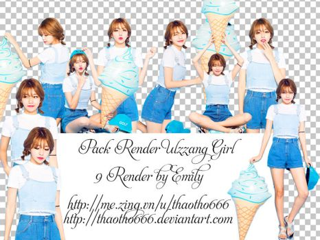 Share Pack Render Ulzzang By Emily by thaotho666